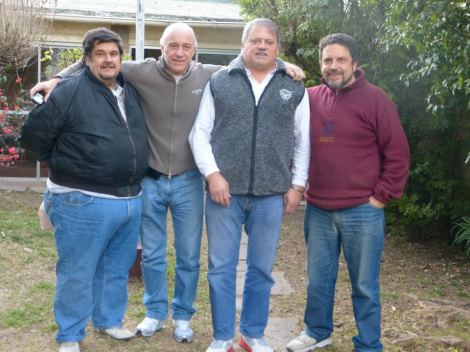 Phil, Jorge y Xabier