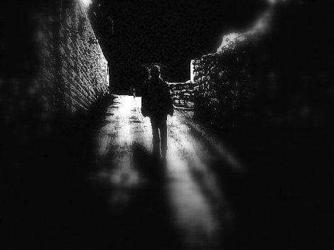 caminar en la noche