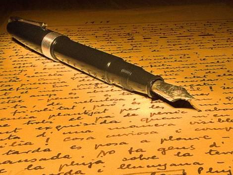 carta y lapicera